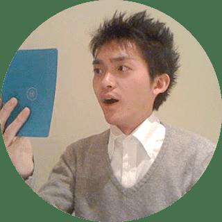 20代男性の生徒さんの顔写真